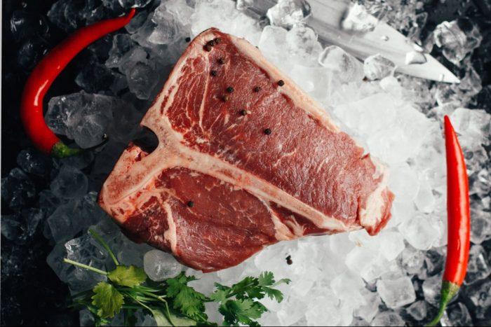 Pas de muscles de la viande